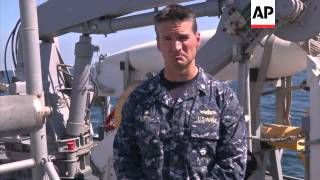 Mine detection technology showcased during navy exercise