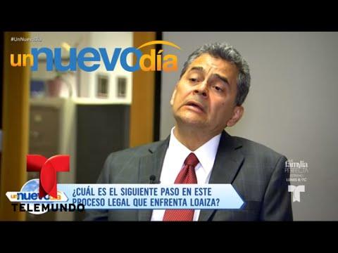 Esteban Loaiza se presenta en una audiencia preliminar | Un Nuevo Día | Telemundo