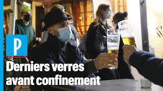 Reconfinement : «On va boire et se dire à l'année prochaine»