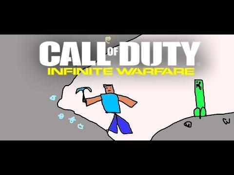 Call Of Duty : Infinite Warfare Trailer, but the music is Mine Oddity