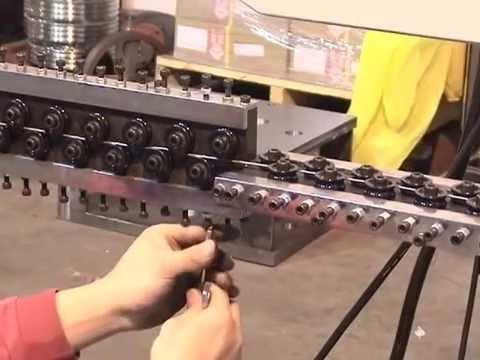 CHF-2 Automatic Wire Hanger Machine (Strut Hangers)