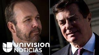 Exasesor de campaña presidencial de Trump testificará contra Paul Manafort, según Los Angeles Times 2017 Video