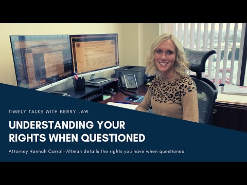 Knowing Your Rights When Questioned by Law Enforcement | Nebraska Defense Attorneys