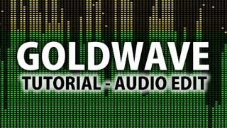 Goldwave Tutorial & Opinião - Edição Audio (Em Português) (HD)