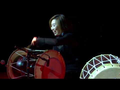 Janggu, a Korean drum performance | Kim So Ra | TEDxUbud