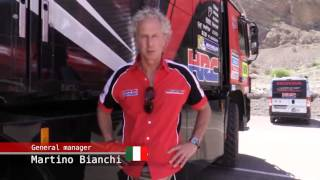2014 Dakar Rally Behind the Scenes - Stage 3
