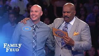 Dinisis playing FAST MONEY! | Family Feud