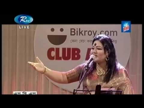 BANGLA MUSICAL   MOMTAZ SINGS FOLKS - LIVE SHOW