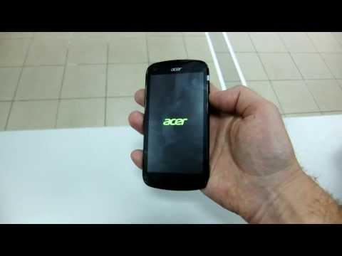 Acer V370 Liquid E2 Duo сброс на заводские настройки