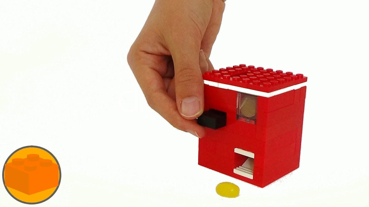 How To Build The World S Smallest Lego Candy Machine