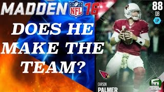 CARSON PALMER REVIEWED! LINEUP UPDATE! Madden 16 Ultimate Team | MUT 16 Gameplay