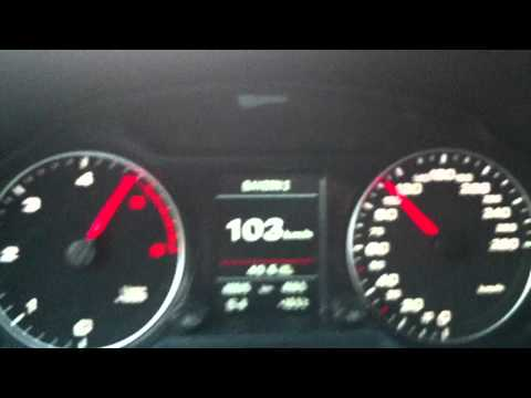 Audi Q5 3.0 TDI Quattro 0-100 km/h  (0-60 mph)