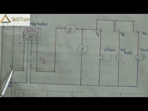 Diagrammatic Representation of House Wiring (English)