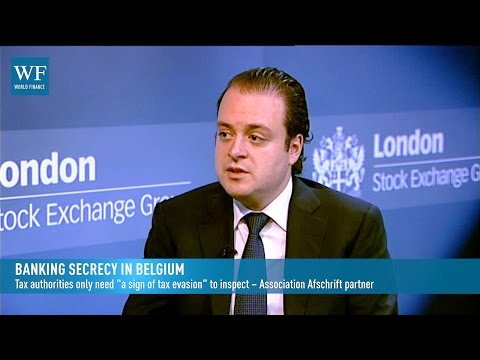 Association Afschrift on Belgium's new bank secrecy laws | World Finance Videos