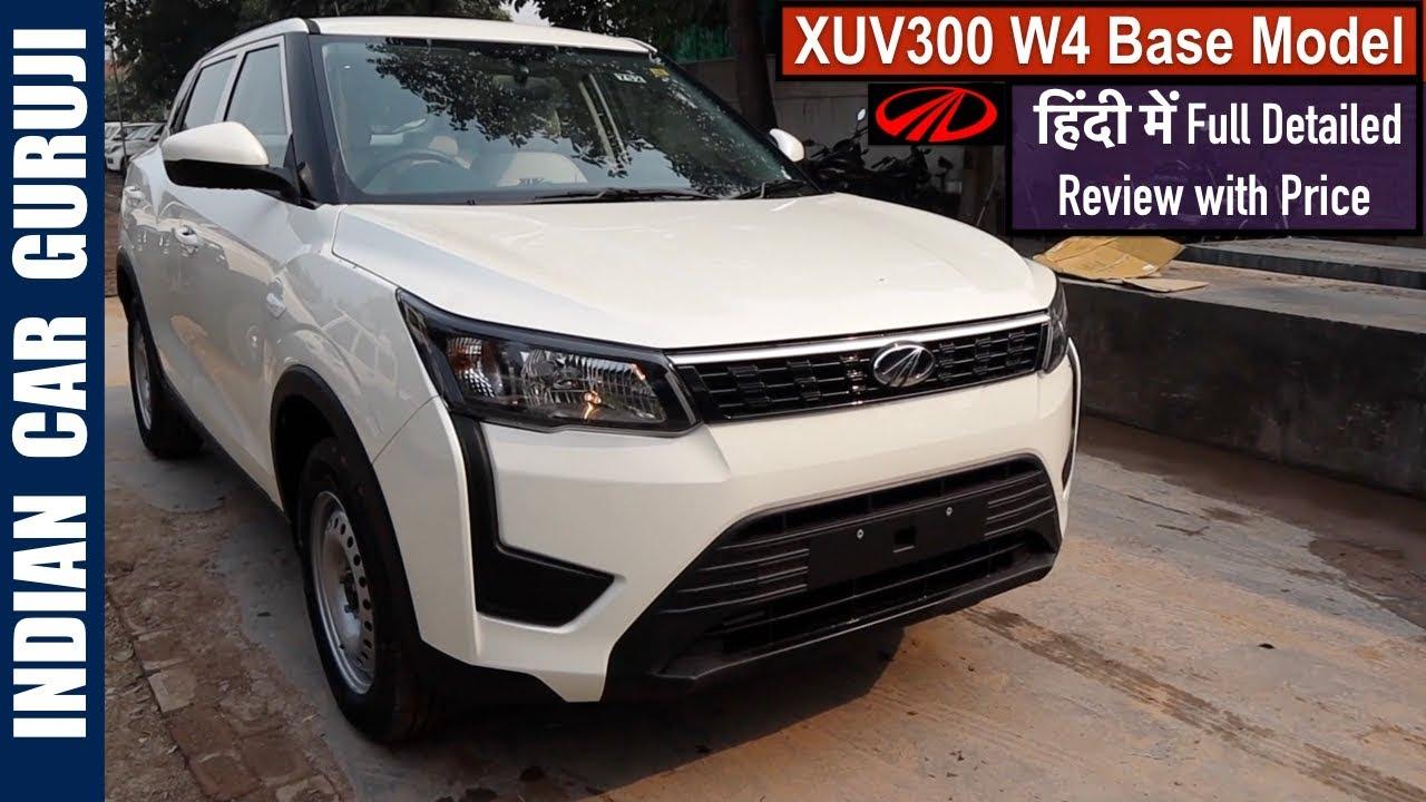 Mahindra Xuv300 Base Model Review Xuv300 W4 Price Interior