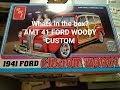 What's in the box? AMT 41 Ford custom woody