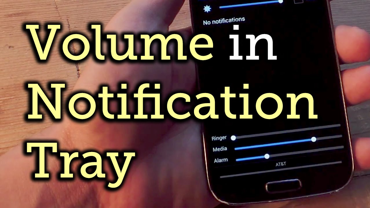 Display All Volume Sliders in the Notification Panel on Android [How-To]