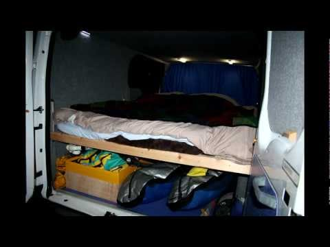 Timelapse of Converting a Ford Transit to a Windsurf and Surfing Van!
