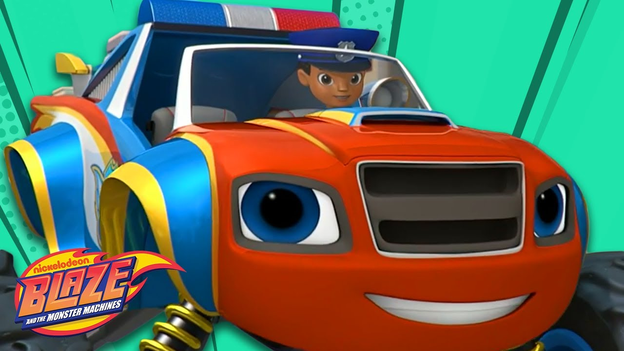 Download Officer Blaze and AJ Save Axle City! 🚓 | Blaze and the Monster Machines