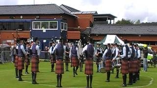 University of Bedfordshire Pipe Band European Pipe Band Championships 2012