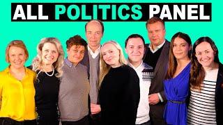 """""""Poliitikot ovat epärehellisiä."""" – KIOSKI ALL POLITICS PANEL"""