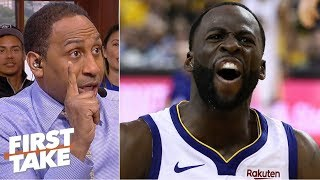Download 'Zip it! Don't do anything!' - Stephen A. urges Draymond to avoid a Game 7 suspension | First Take Mp3 and Videos