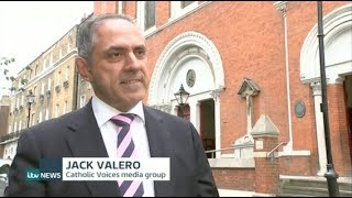 Jack Valero on ITV news item on charges against Cardinal Pell