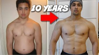 My 10 Year Realİstic Natural Body Transformation