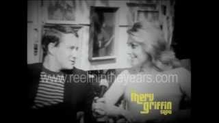 Sharon Tate Interview on Carnaby Street (Merv Griffin Show 1966)