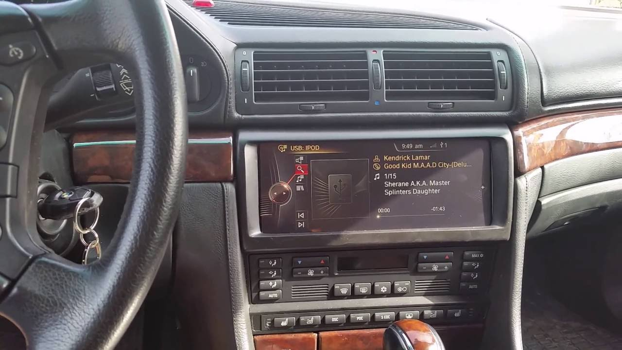 Nbt Idrive Retrofit 2000 Bmw 750il E38 Youtube