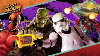 Star Wars NERF Guns, No Power Rangers Sequel & Deadpool - Up At Noon Live!
