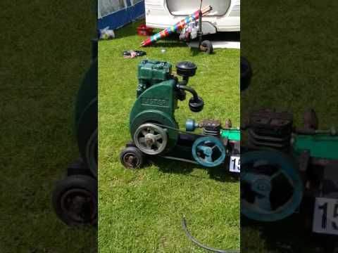 Stationary engines at oaklands show 2015