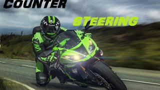 Counter steering explained.  (This video contains coarse language, 14+)