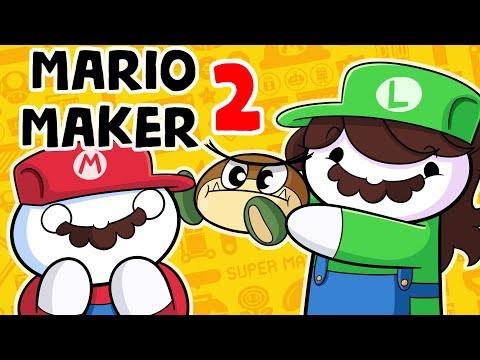 DESTROYING Mario Maker 2 with FACTS and LOGIC and JAIDEN