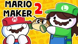Download DESTROYING Mario Maker 2 with FACTS and LOGIC and JAIDEN Mp3 and Videos