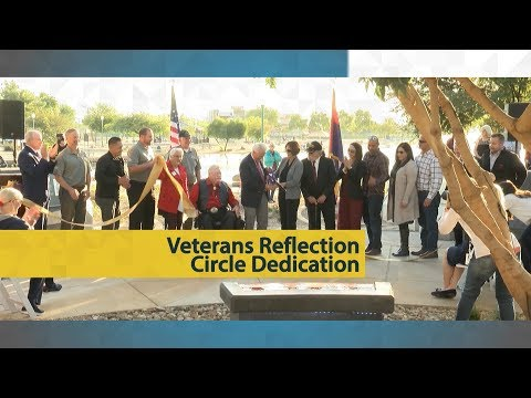 Veterans Reflection Circle Dedication video thumbnail