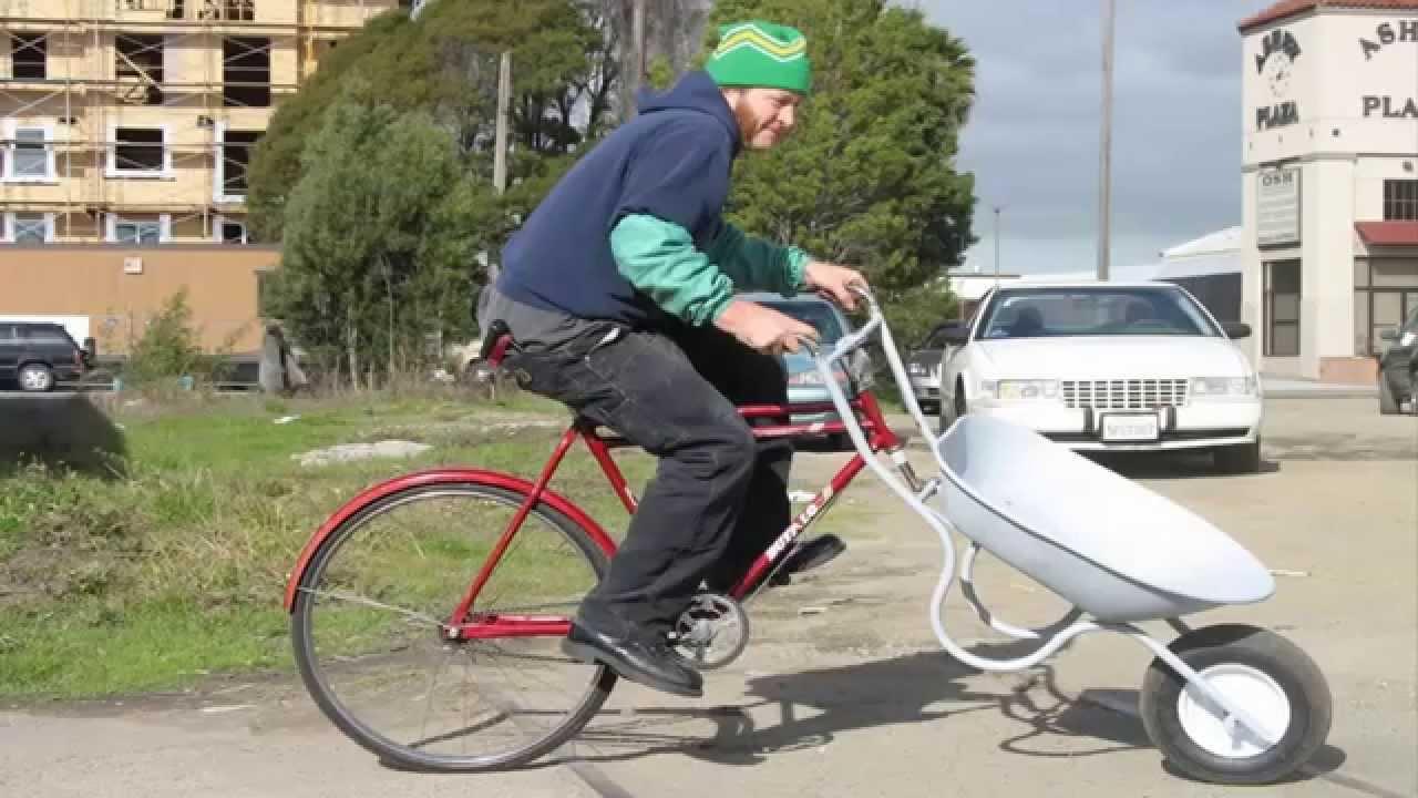 Велосипед рикши сделать своими руками