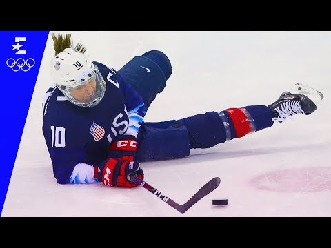 Ice Hockey | USA v Finland Semi-Final Highlights | Pyeongchang 2018 | Eurosport