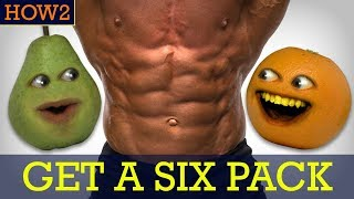 how2 how to get a six pack
