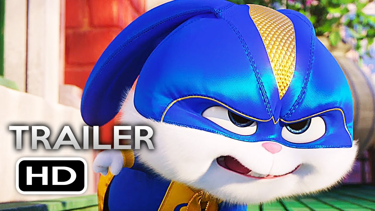 THE SECRET LIFE OF PETS 2 Official Teaser Trailer 3 (2019) Animated Movie HD