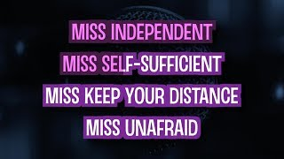 Miss Independent (Karaoke Version) - Kelly Clarkson