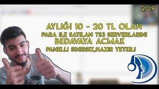 Aylığı 20 TL Olan TeamSpeak 3 Server BEDAVAYA AÇMAK !!!