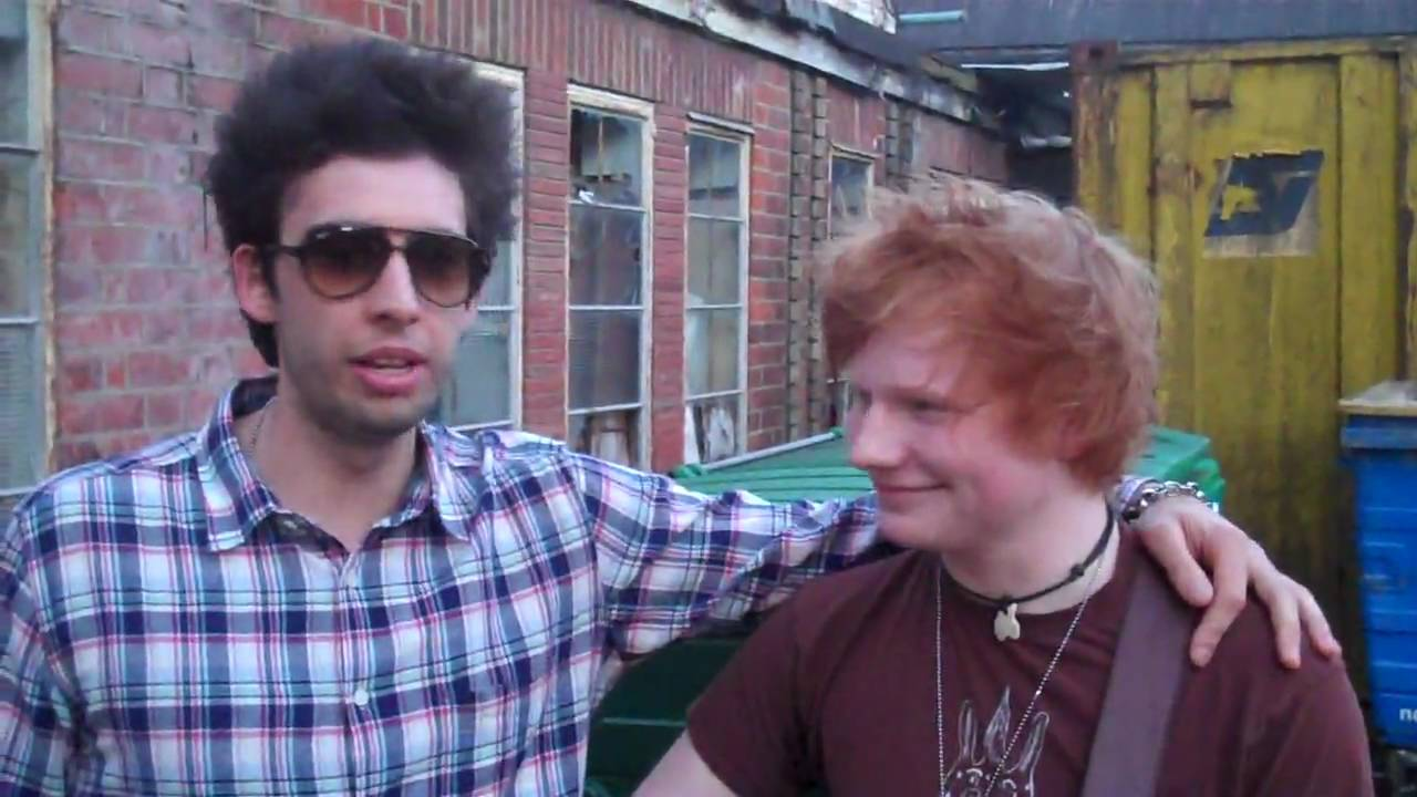 Example Tour Vid 8 Example Ed Sheeran Perform The Nando S Skank Youtube