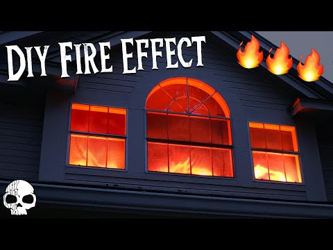 How to make Realistic Fake Fire Special Effects