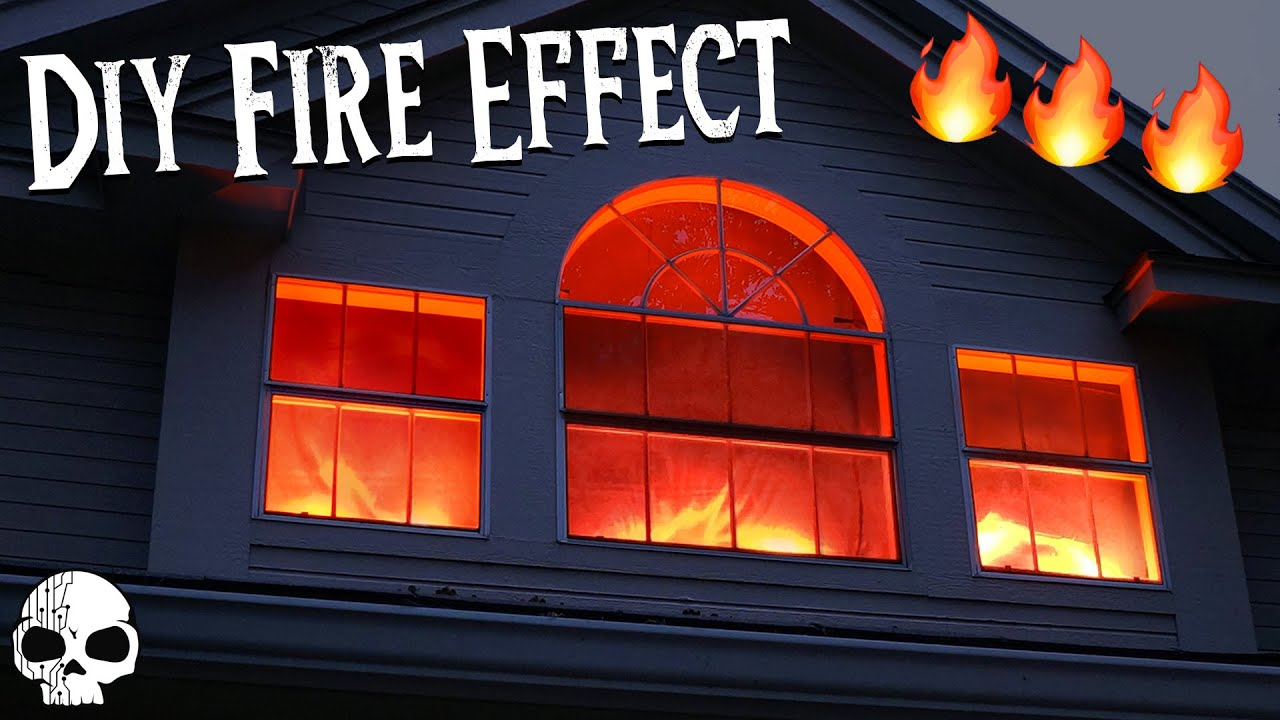Diy Halloween Props Realistic Fake Fire Special Effects