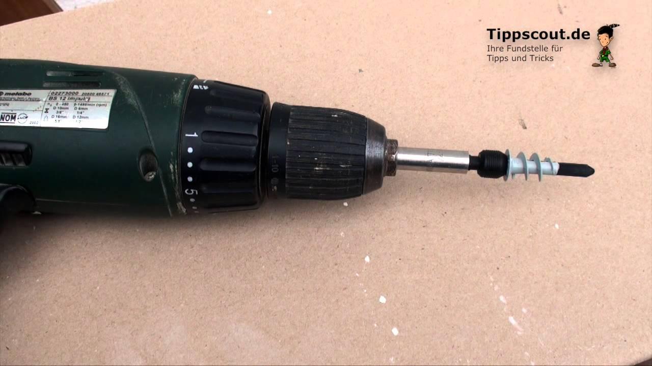 Gut gemocht Rigips-Dübel verwenden | Tippscout.de LN08