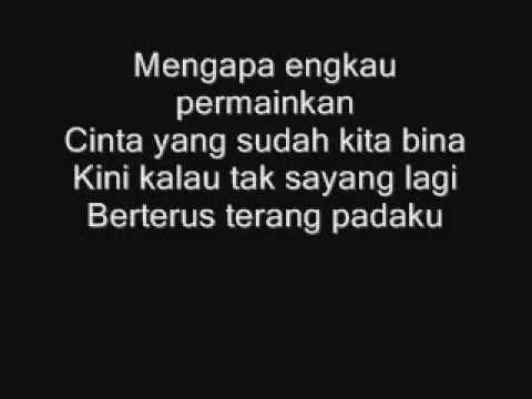 Apit - Cintaku Dipermainkan Lyrics