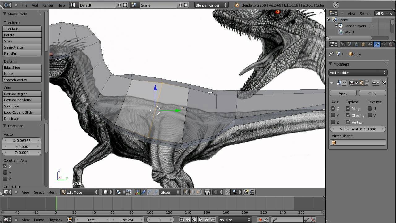 3d Pikachu Wallpaper Modeling A Velociraptor In Blender Part 1 Youtube