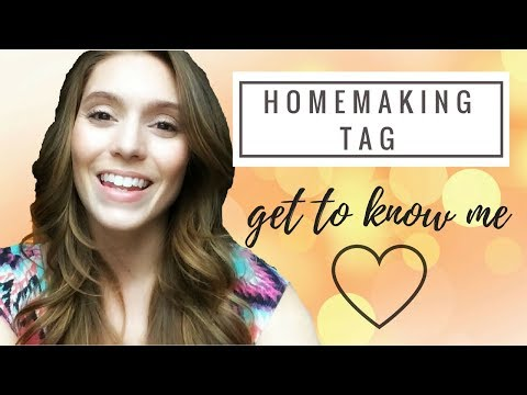 REAL LIFE HOMEMAKER || THE HOMEMAKER'S TAG || SAHM