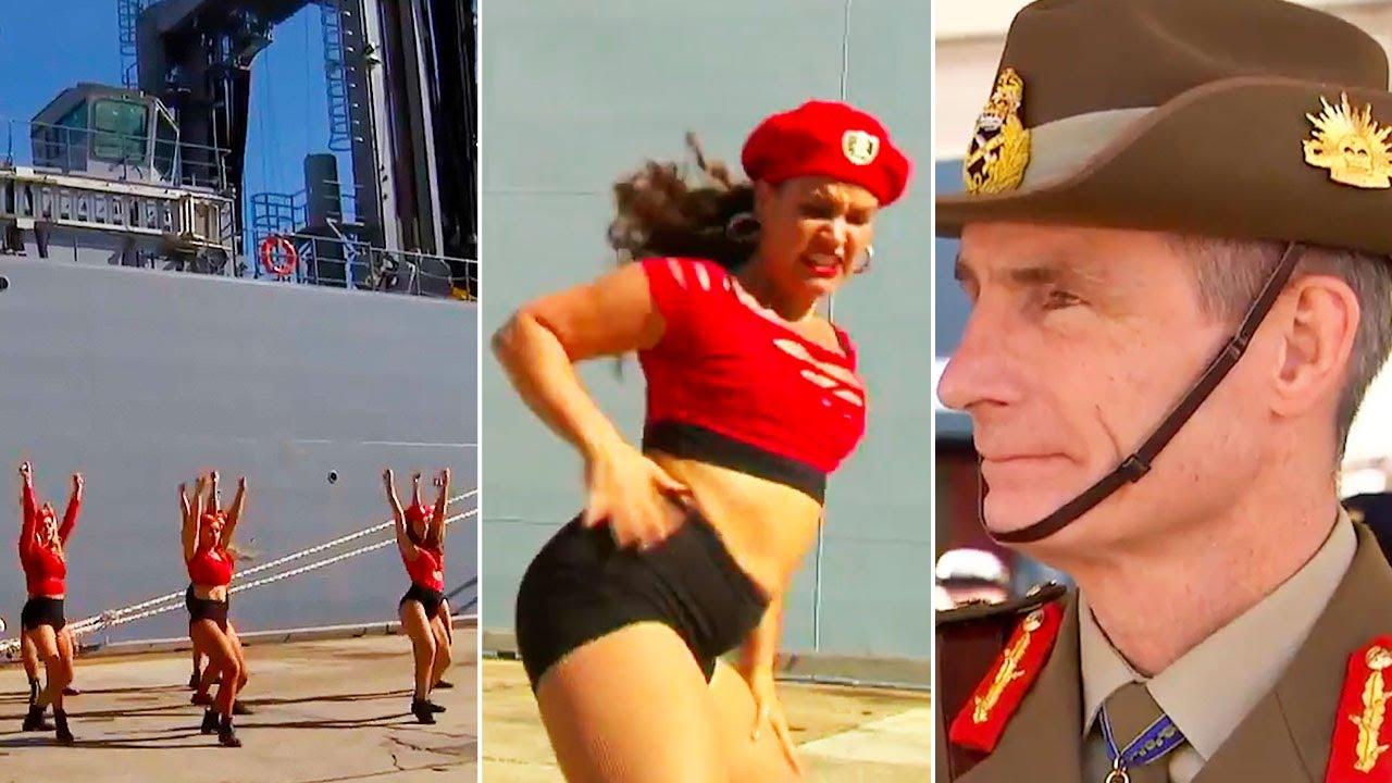 Ozzy Man Reviews: Aussie Navy Twerking Ceremony